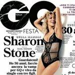 Aos 56 Anos, Sharon Stone Posa de Lingerie