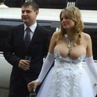 Vestido de Noiva Ousado