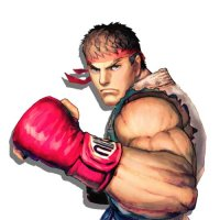 As 15 Faces de Ryu, de Street Fighter