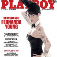 Fotos Polêmicas de Fernanda Young na Playboy