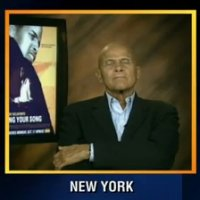 Ator Harry Belafonte Tira Soneca Ao Vivo na TV