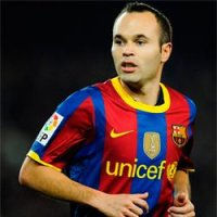 Iniesta e o Ballon D'or