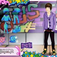 Jogo Online: Justin Bieber Dress Up