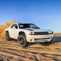 Dodge Challenger At Untamed Muscle Car e Off-Road