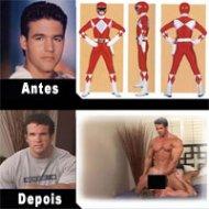 Power Ranger Vermelho Atuando em Filme Gay