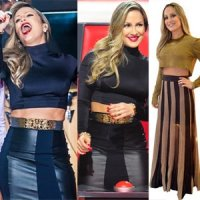 Claudia Leitte e Seus Figurinhos no The Voice