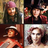 As Mil e Uma Caras de Johnny Depp