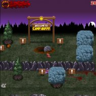 Jogo Online: The Visitor Massacre of Camp Happy