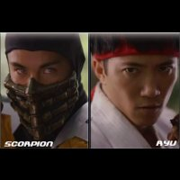 Luta Interativa: Ryu vs. Scorpion
