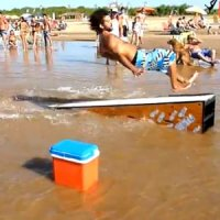 A Anta do Skim Boarding